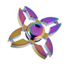 Neo Chrome Fidget Hand Spinner Finger Toy Focus Gyro - Ships from USA!