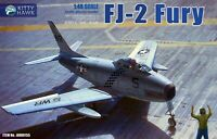 Kitty Hawk KH80155 1/48 FJ-2 Fury Plastic Model Kit, Just Ready