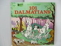 101 Dalmatians LP and Pop-Up Book Disneyland 1963