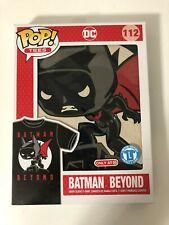 Funko POP! TEES DC #112 BATMAN BEYOND T-SHIRT SIZE L (Large) Target Exclusive