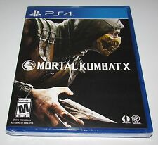 Mortal Kombat X for Playstation 4 Brand New! Factory Sealed!