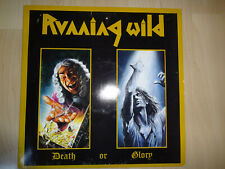Running Wild -- Death or Glory - LP -- Germany 1989 - 10 Tracks -- Sehr selten