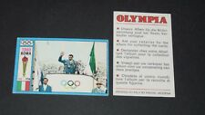 192 1960 ROMA CONSOLINI PANINI OLYMPIA 1896-1972 JEUX OLYMPIQUES OLYMPIC GAMES