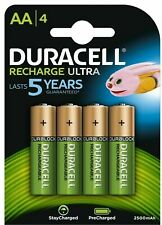 Duracell Ultra Rechargeable Batteries AA 2500mAh - 4 Pack - Fast Free Delivery