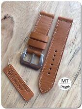 Cinturino artigianale 24mm 100%Handmade In Italy Pam Leather Watch Strap