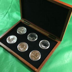 Canada Silver Wildlife Set 2011to 2013-6 coins 6 ounces .9999 Fine Silver