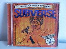 CD ALBUM Visible noise presents Subverse Best undergroud metal hardcore from UK