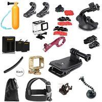Kit Accessori Gopro Hero 5/6,Bundle Accessori,Supporti Action Cam,Custodia,video