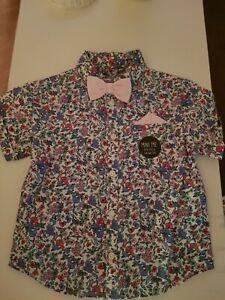 Boys floral Shirt 2-3