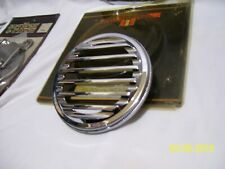 HARLEY DAVIDSON SPEEDOMETER DASH COVER, LUVORED GRILL, MOST BIG TWINS FL 1968-UP