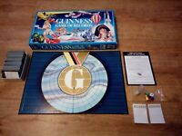 The Guinness Game of Records Board Game Vintage The Games Team - Complete - VGC