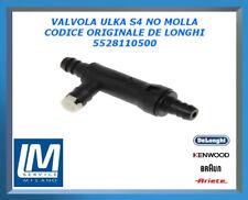 VALVOLA ULKA S4 NO MOLLA 5528110500 DE LONGHI ORIGINALE