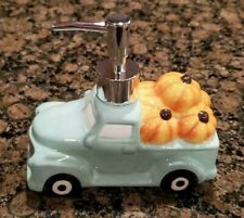 New  Aqua Truck Lotion Soap Dispenser Kitchen / Bathroom