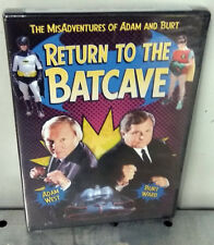 Return To The Batcave: The Misadventures Of Adam And Burt (DVD, 2005) Brand New