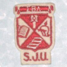 "Sigma Beta Delta Patch - SJU - vintage - 2"" x 3""  - Saint Joseph's University"
