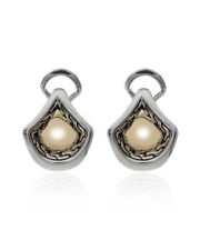 John Hardy 18k Yellow Gold And Sterling Silver Legends Naga Earrings 221228 $395