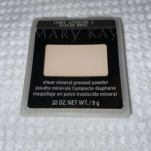 Mary Kay Sheer Mineral Pressed Powder- Ivory 1 #015135- New