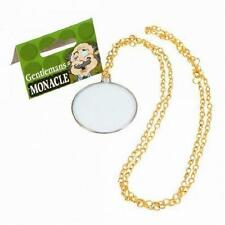 ** GENTLEMANS MONOCLE  ADULT FANCY DRESS NEW * SHERLOCK