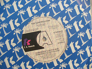 THE CONTROLLERS SOMEBODY'S GOTTA WIN SOMEBODY'S GOT TO LOSE n/m demo / promo