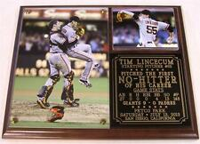 Tim Lincecum #55  First Career No-Hitter San Francisco Giants Photo Plaque