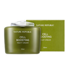 Nature Republic Cell Boosting Power Night Cream 55 ml Skin Care Wrinkle Improve