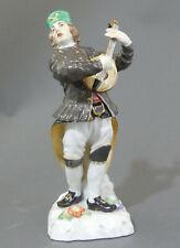 ⚔ Meissen Figur 69516  Bergmann mit Laute H.20,0cm 1.Wahl TOP