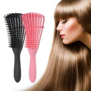 Detangling Brush for Curly Hair African American Natural hair Comb Styling Tools