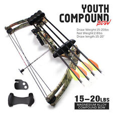 Evercatch Hunting bow 15-20lbs Junior Compound Bow Youth Target Archery