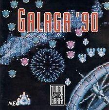 TurboGrafx-16 Game Card GALAGA '90