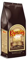 Kahlua French vanilla Gourmet Ground Coffee 1 Bag 12oz