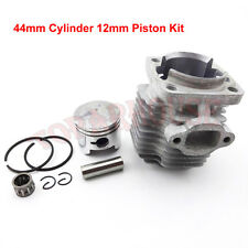 44mm Cylinder Piston Kit For 49cc 2 Stroke Engine For Mini ATV Quad Pocket Dirt