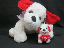 VALENTINE HEART KELLY TOY PUPPY DOG WITH MUSICAL KEYCHAIN PLUSH DOG BABY