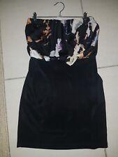Strapless black cooper st dress size 8