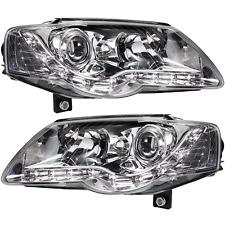 Scheinwerfer Set VW Passat B6 Typ 3C 05-10 LED klarglas/chrom Dragon Lights