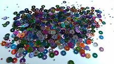 5g Craft Sequin / Confetti - Metallic - 4.5mm - Gear - Mixed Colour