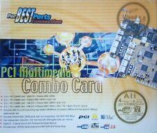 PCI Multimedia Combo Karte