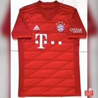 Authentic Adidas Bayern Munich 2019/20 Home Jersey. Size S, Excellent Condition.