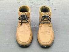 1/6 Scale Toy Men's Hommes - Brown Dress Shoes (Foot Type)