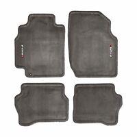 02-04 Nissan Sentra NISMO Carpeted Carpet Charcoal Floor Mats OEM NEW Genuine
