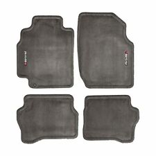 02-04 Nissan Sentra NISMO Carpeted Carpet Charcoal Floor Mats OEM NEW Genuine