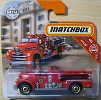 Jeep Cherokee  FIRE RESCUE  Feuerwehr  Matchbox 12//20  1:64  OVP  NEU  2018