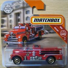 Seagrave Fire Engine  Feuerwehr  Matchbox MBX Rescue 14/20  1:64  OVP  NEU  2018