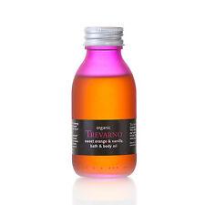 Trevarno - Sweet Orange & Vanilla Bath & Body Oil – scented moisturiser