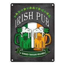 Metallschild Irish Pub Blechschild Irish Pub Schild Metallschilder Irish Pub