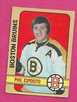 1972-73 OPC # 111 BRUINS PHIL ESPOSITO GOOD CARD (INV# D7745)