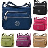 Women Waterproof Canvas Messenger Cross body Handbag Shoulder Bags Purse