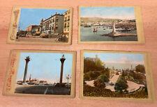 10 alte Ansichtskarten, Formato Gabinetto & G. Wulz Trieste & C.Coen & A. Heck