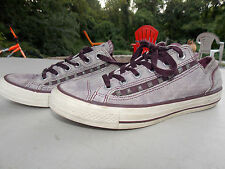 2000's Light Purple Leather Low Canvas Coverse Women's 9 FREE SHIPPING (used)
