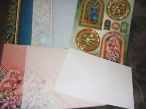 HUNKYDORY ADORABLE SCORABLE BORN TO STAND OUT TOPPERS A4 CARDS INSERTS ENVELOPES