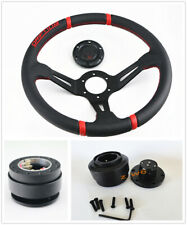 135 Deep Dish Drifting Sport Off Road Steering Wheel Amp Horn Quick Relese Kit